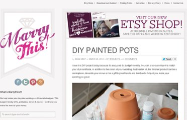http://www.marrythis.com/diy-projects/diy-painted-pots/