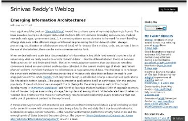 http://srinivasreddy.wordpress.com/2010/08/21/emerging-information-architectures/
