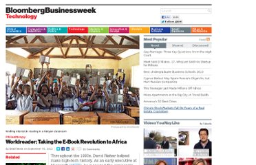 http://www.businessweek.com/articles/2012-09-06/worldreader-taking-the-e-book-revolution-to-africa