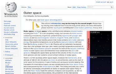 http://en.wikipedia.org/wiki/Outer_space