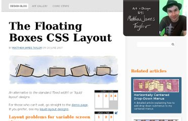 http://matthewjamestaylor.com/blog/floating-boxes-css-layout