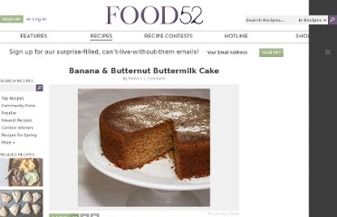 http://food52.com/recipes/2185-banana-butternut-buttermilk-cake