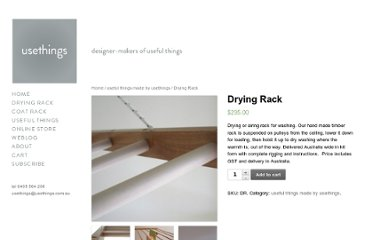 http://www.usethings.com.au/product/drying-rack/