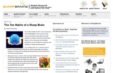 http://sharpbrains.com/blog/2011/12/30/the-ten-habits-of-a-sharp-brain/