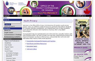 http://www.priv.gc.ca/youth-jeunes/index_e.asp