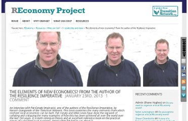 http://www.reconomy.org/the-elements-of-new-economics-an-interview-with-the-resilience-imperatives-author/