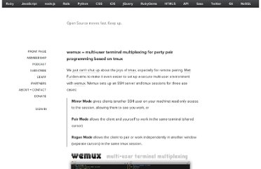 http://thechangelog.com/wemux-multi-user-terminal-multiplexing-for-party-pair-pr/