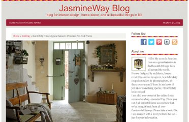 http://jasminewayblog.com/rustic-guest-house-in-provence-south-of-france/