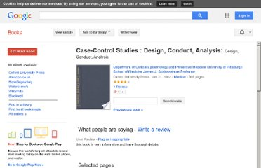 http://books.google.co.uk/books/about/Case_Control_Studies_Design_Conduct_Anal.html?id=5OkyFkYOn0QC#v=onepage&q&f=false