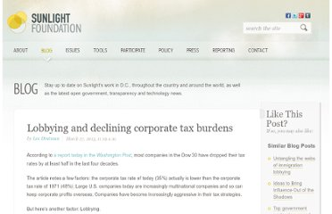 http://sunlightfoundation.com/blog/2013/03/27/corporate-taxes/