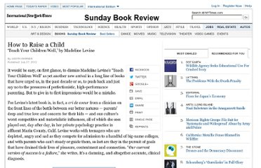 http://www.nytimes.com/2012/07/29/books/review/teach-your-children-well-by-madeline-levine.html