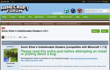 http://www.minecraftforum.net/topic/940974-147sonic-ethers-unbelievable-shaders-glsl-shaders-dynamic-shadows-more/