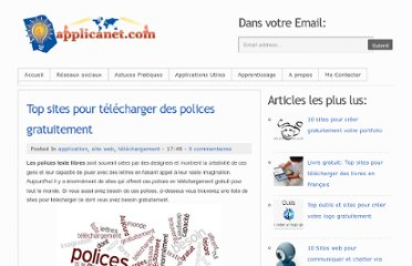 http://www.applicanet.com/2011/10/top-sites-pour-telecharger-des-polices.html#.UVPV2NF-P0M