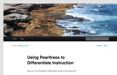 http://chancyzahrt.wordpress.com/2013/03/27/using-pearltrees-to-differentiate-instruction/