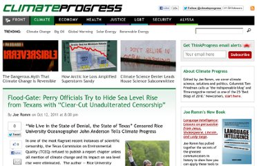 http://thinkprogress.org/climate/2011/10/12/342210/flood-gate-perry-sea-level-rise-censorship/