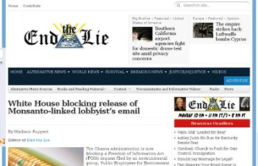 http://endthelie.com/2012/02/21/white-house-blocking-release-of-monsanto-linked-lobbyists-email/