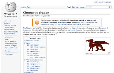 http://en.wikipedia.org/wiki/Chromatic_dragon