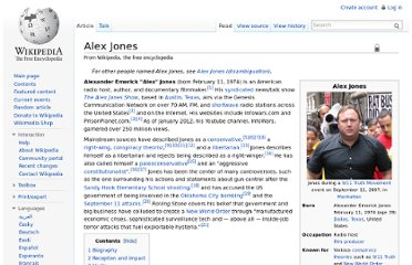 http://en.wikipedia.org/wiki/Alex_Jones