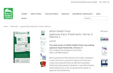 http://shop.whiterabbitjapan.com/japanese-kanji-flashcards-series-2-volume-1.html#.UVRjMNF-P0M