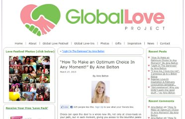 http://globalloveproject.com/2013/03/optimum-choices/