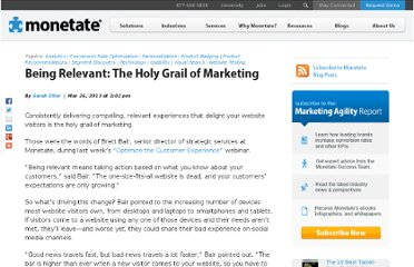 http://monetate.com/2013/03/being-relevant-the-holy-grail-of-marketing/#axzz2OgOpfmai