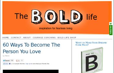 http://theboldlife.com/2010/01/60-ways-person-admire-love/