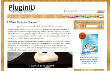 http://www.pluginid.com/7-ways-to-love-yourself/