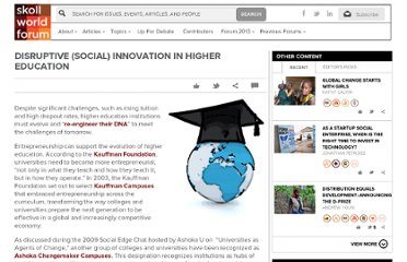 http://skollworldforum.org/2011/08/19/disruptive-social-innovation-in-higher-education/