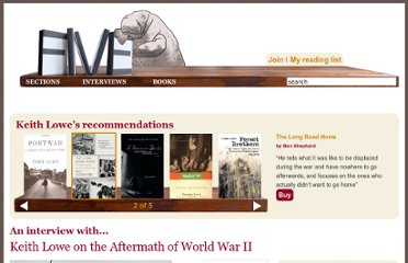 http://fivebooks.com/interviews/keith-lowe-on-aftermath-world-war-two