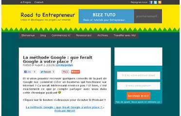 http://roadtoentrepreneur.com/methode-google/