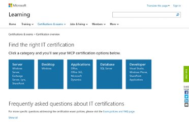 http://www.microsoft.com/learning/en/us/certification-overview.aspx#fbid=ecfRymY4JQG
