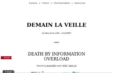 http://www.demainlaveille.fr/2009/09/02/death-by-information-overload/