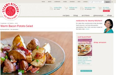 http://www.steamykitchen.com/18741-warm-bacon-potato-salad-recipe.html