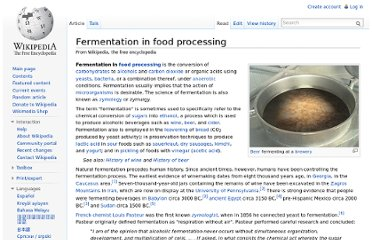 http://en.wikipedia.org/wiki/Fermentation_in_food_processing#Fermented_foods_by_type