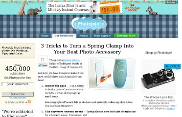 http://content.photojojo.com/tips/spring-clamp-diy-camera-mount/