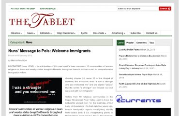 http://thetablet.org/nuns-message-to-pols-welcome-immigrants/