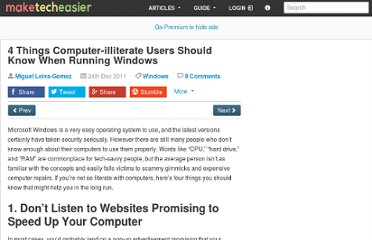 http://www.maketecheasier.com/4-things-computer-illiterate-users-should-know-when-running-windows/2011/12/24