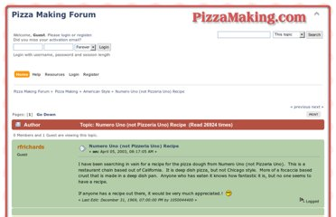 http://www.pizzamaking.com/forum/index.php/topic,4.0.html?PHPSESSID=a5cc354cd3996f534f1ff7fe4ee77e40