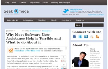 http://www.seekomega.com/2010/07/why-most-software-user-assistance-help-is-terrible-and-what-to-do-about-it/