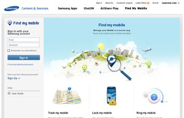 http://findmymobile.samsung.com/login.do