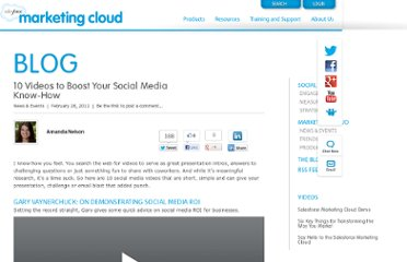 http://www.salesforcemarketingcloud.com/blog/2012/02/10-videos-to-boost-your-social-media-know-how/