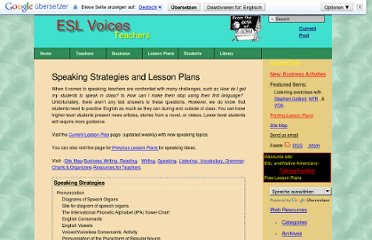 http://esl-voices.com/teachers/speaking-strategies-and-lesson-plans/