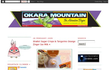 http://okaramountain.blogspot.com/search?updated-max=2009-02-28T17:29:00-08:00&max-results=7