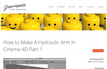 http://greyscalegorilla.com/blog/tutorials/how-to-make-a-hydraulic-arm-in-cinema-4d/