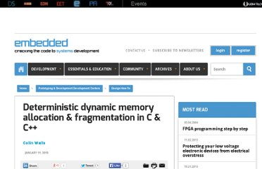 http://embedded.com/design/prototyping-and-development/4008868/Deterministic-dynamic-memory-allocation--fragmentation-in-C--C-