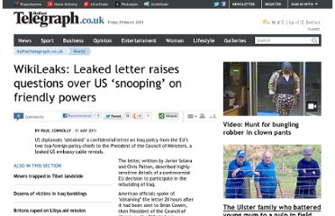 http://www.belfasttelegraph.co.uk/news/world-news/wikileaks-leaked-letter-raises-questions-over-us-snooping-on-friendly-powers-28622310.html