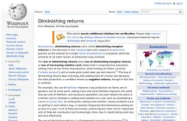 http://en.wikipedia.org/wiki/Diminishing_returns