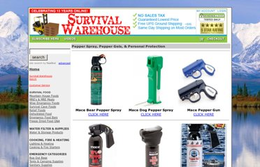 http://www.survival-warehouse.com/pepper_spray/index.htm#.UVXz5dF-P0M