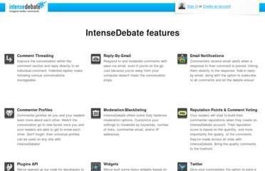 http://intensedebate.com/features