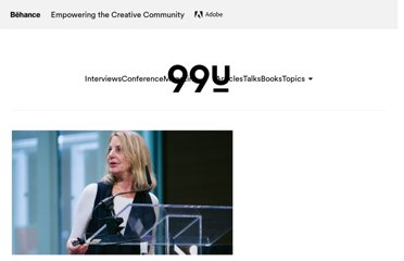 http://99u.com/videos/7213/paula-scher-do-what-youve-never-done-before